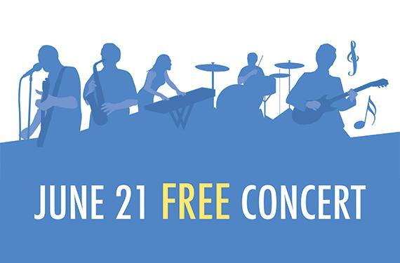 MMLA June 21 Free concert